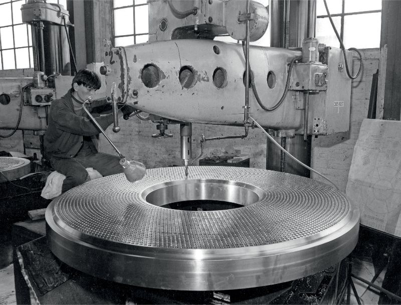 First Heat Exchanger Built with tube to tube sheet Internal Bor welding technique