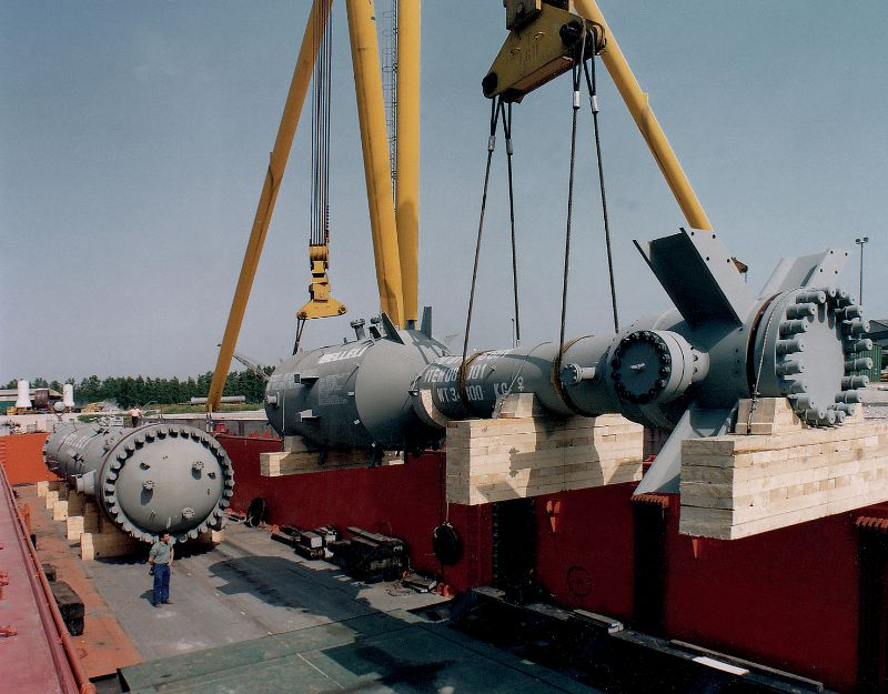 First Heat Exchanger with Titanium Material
